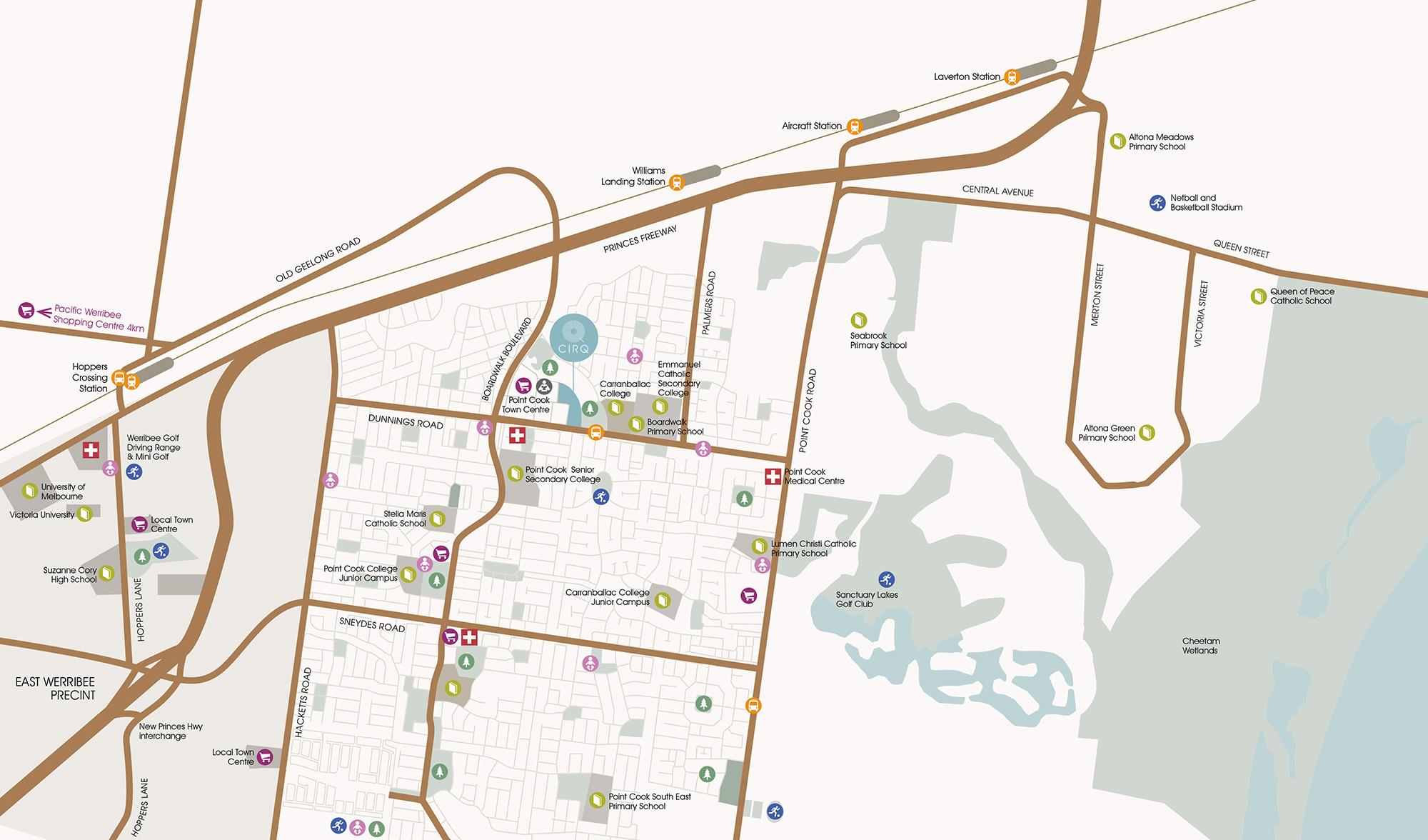 Amenities Map